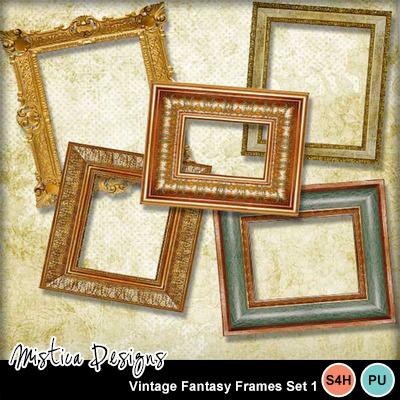 Vintage_fantasy_frames_set_1