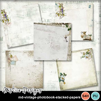 Md-vintage-photobook-stacked-papers