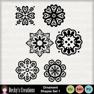 Ornament_shapes_set_1