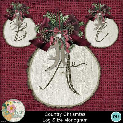 Countrychristmas_logslicemonogram