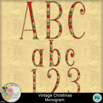 Vintagechristmas_monogram