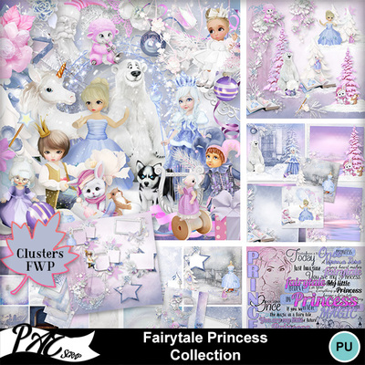 Patsscrap_fairy_tale_princess_pv_collection