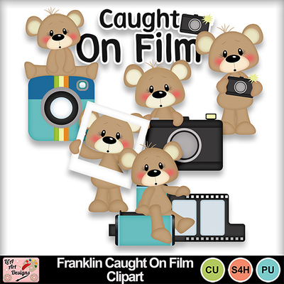 Franklin_caught_on_film_clipart_preview