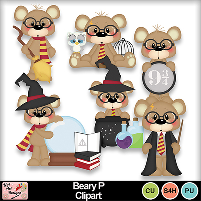 Beary_p_clipart_preview
