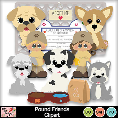 Pound_friends_clipart_preview