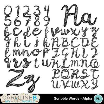 Scribble-alpha_1