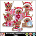 Ruby_and_rudy_christmas_clipart_preview_small