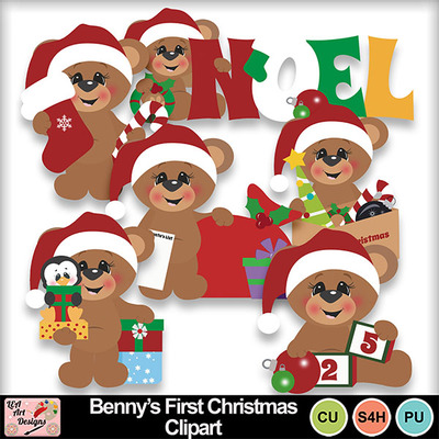 Benny_s_first_christmas_clipart_preview