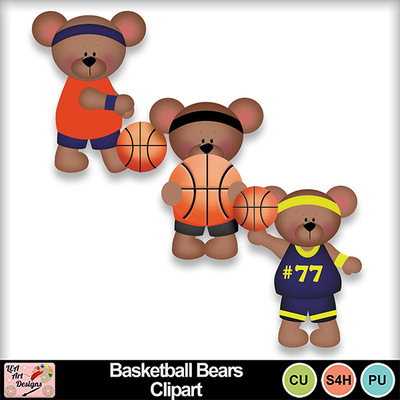 Basketball_bears_clipart_preview