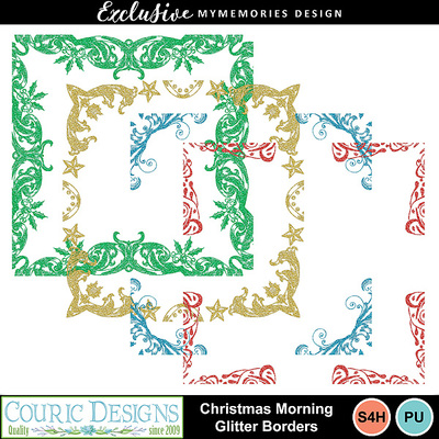 Christmas_morning_glitter_borders