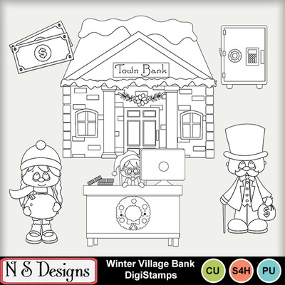 Winter_village_bank_ds