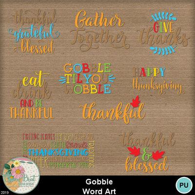 Gobble_wordart
