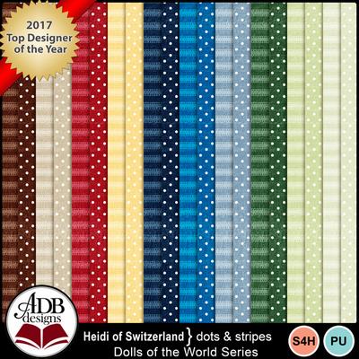 Heidi-dots-stripes-600