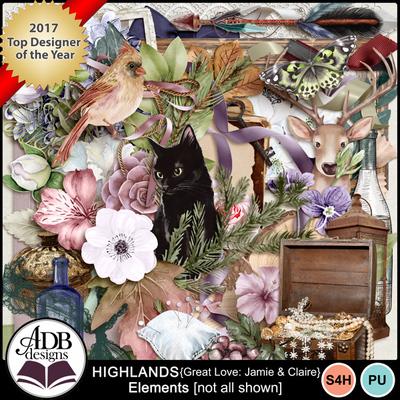Highlandsgljamieclaire_elements