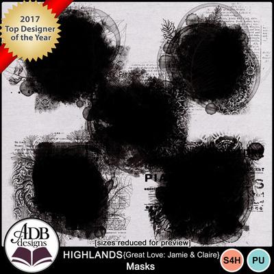 Highlandsgljamieclaire_masks
