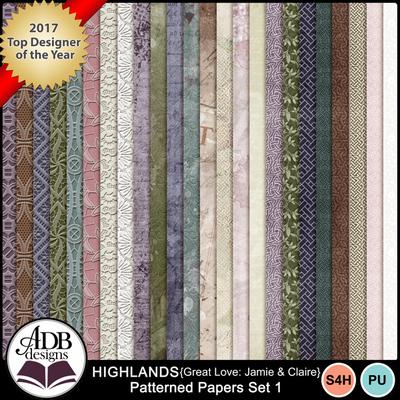 Highlandsgljamieclaire_papersset1