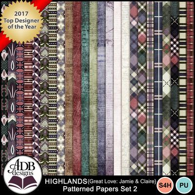 Highlandsgljamieclaire_papersset2