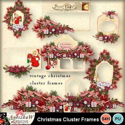 Vintage_christmas_cluster_frames_1