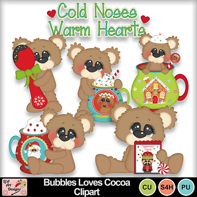 Bubbles_loves_cocoa_clipart_preview