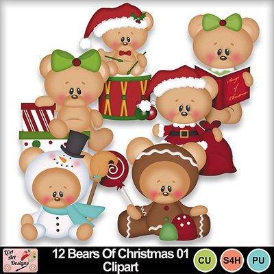 12_bears_of_christmas_01_clipart_preview