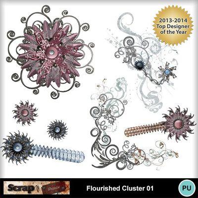Flourished_cluster_01