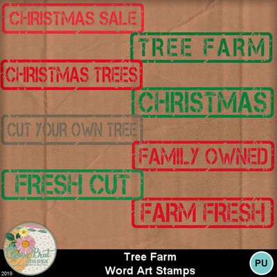 Treefarm_wordartstamps