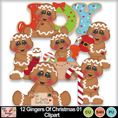 12_gingers_of_christmas_01_clipart_preview