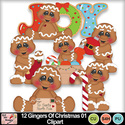 12_gingers_of_christmas_01_clipart_preview_small