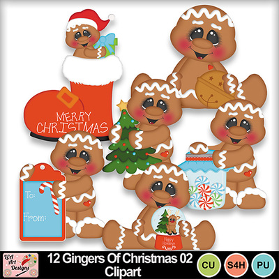 12_gingers_of_christmas_02_clipart_preview