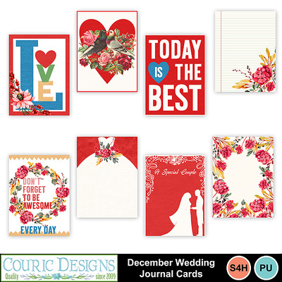 December_wedding_journal_cards