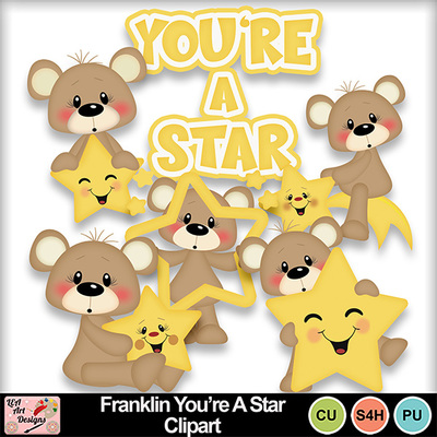 Franklin_you_re_a_star_clipart_preview