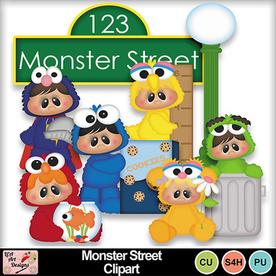 Monster_street_clipart_preview