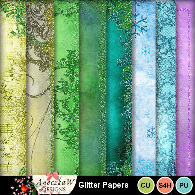 Glitter_papers