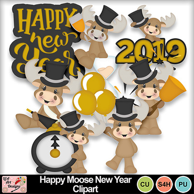Happy_moose_new_year_clipart_preview