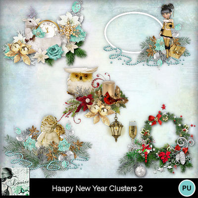 Louisel_happy_new_year_clusters2_preview