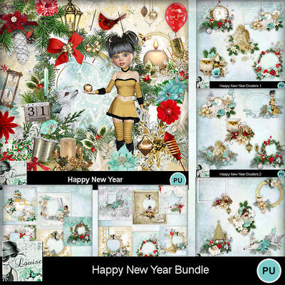 Louisel_happy_new_year_pack_preview