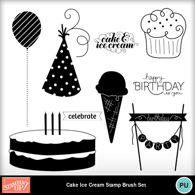 Cake_ice_cream_stamp_brush_set