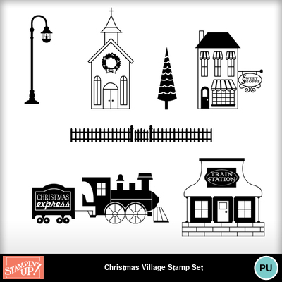 Christmas_village_stamp_brush_set
