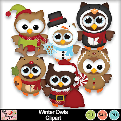 Winter_owls_clipart_preview