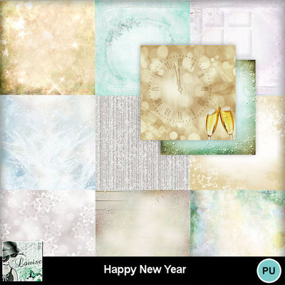 Louisel_happy_new_year_papiers1_preview