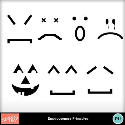 Emoticostumes_printables