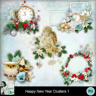 Louisel_happy_new_year_clusters1_preview