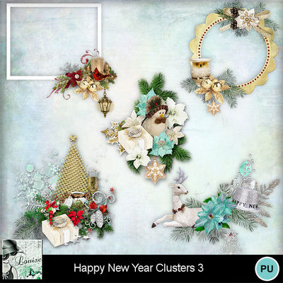 Louisel_happy_new_year_clusters3_preview