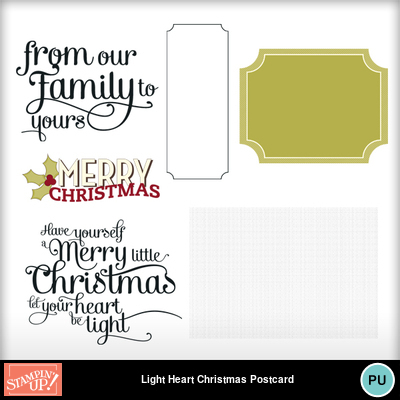 Light_heart_christmas_postcard_template