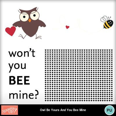 Owl_be_yours_and_you_bee_mine_postcard_templates