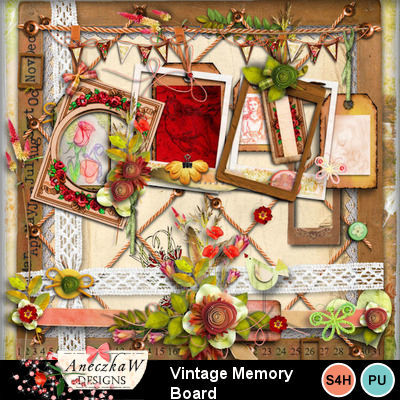 Vintage_memory_board