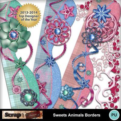 Sweets_animals_borders