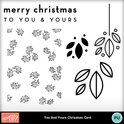 You_and_yours_christmas_photocard_template