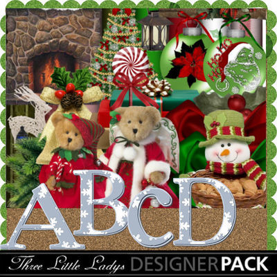 Beary_christmas_scrap_kit