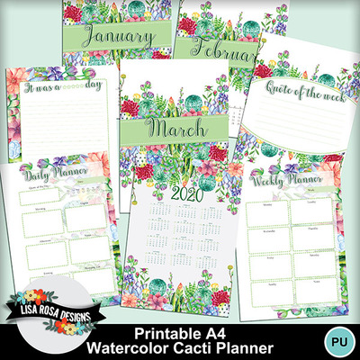 Lisarosadesigns_watercolorcactiplanner_fullpreview
